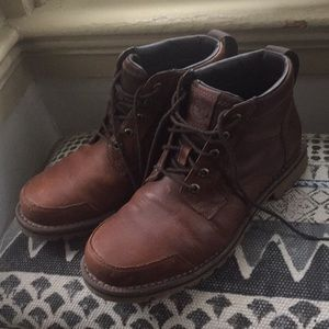 Men's Timberland full grain chukka boots